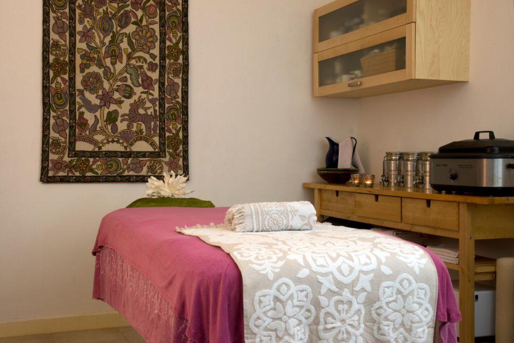 Behandelkamer Ayurvedische massage